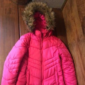 Micheal Kors Pink Winter Coat
